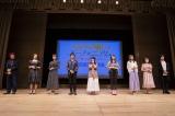 『劇場版 響け!ユーフォニアム〜誓いのフィナーレ〜』完成披露試写会に出席したキャスト陣