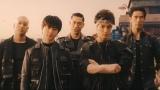 """NTTドコモの新TVCM『ダンスな出会い』に出演する、EXILE TRIBEメンバーによって構成された""""(R)AG POUND"""" 左からMANDY(関口メンディー)、REO(佐野玲於)、AKIRA、GUN(岩田剛典)、NAOKI(小林直己)"""