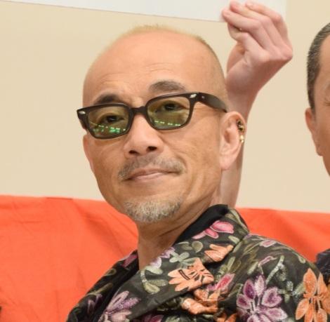 映画『麻雀放浪記2020』の初日舞台あいさつに出席した竹中直人 (C)ORICON NewS inc.