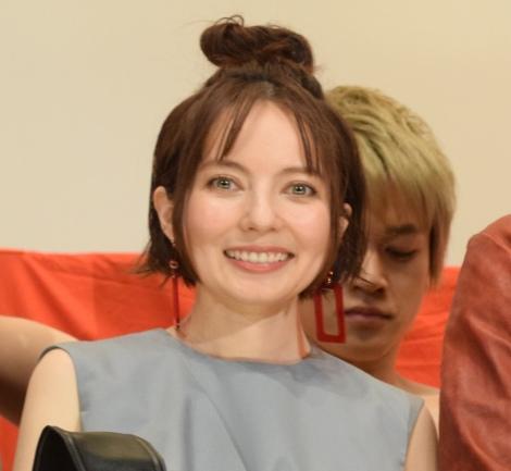映画『麻雀放浪記2020』の初日舞台あいさつに出席したベッキー (C)ORICON NewS inc.