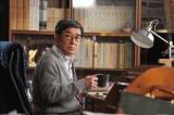 倉本聰氏が1年間かけて描く、帯ドラマ劇場『やすらぎの刻〜道』第3話より。脚本家の菊村(石坂浩二)(C)テレビ朝日