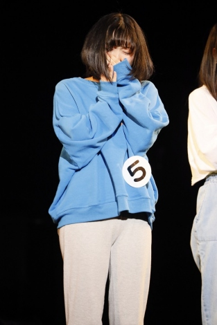 第1幕オーディション後の投票で初日のジュリエット役を勝ち取った北川悠理