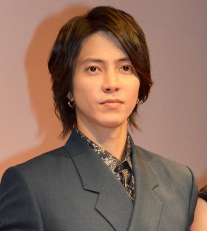 TBS金曜ドラマ『インハンド』キャスト舞台挨拶に出席した山下智久 (C)ORICON NewS inc.