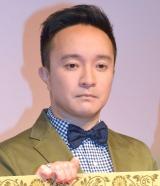 TBS金曜ドラマ『インハンド』キャスト舞台挨拶に出席した濱田岳 (C)ORICON NewS inc.