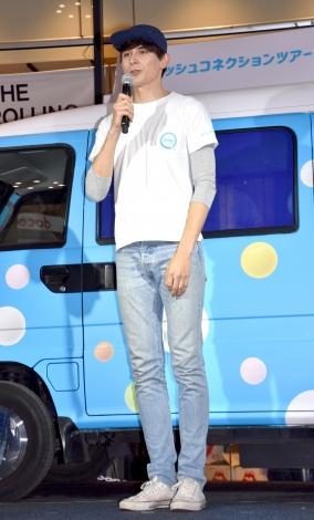 『mentos #フレッシュコネクションツアー』ローンチイベントに出席した岡本至恩 (C)ORICON NewS inc.