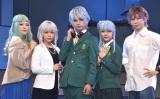 (左から)Fuki、平松可奈子、竹中凌平、山田麻莉奈、古畑恵介=舞台『W'z《ウィズ》』ゲネプロ (C)ORICON NewS inc.