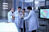 『科捜研の女』メンバーが特別CMに出演。「ルヴァンプライム」を京都府警で分析する(写真提供:テレビ朝日)