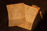 第8回(4月9日放送)より。戦死した父が戦友の柴田剛男(藤木直人)に託した手紙(C)NHK