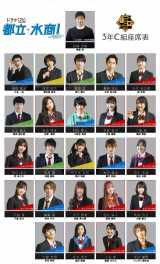 MBS/TBSドラマイズム『都立水商!〜令和〜』生徒役キャストが決定(C)「都立水商!〜令和〜」製作委員会・MBS