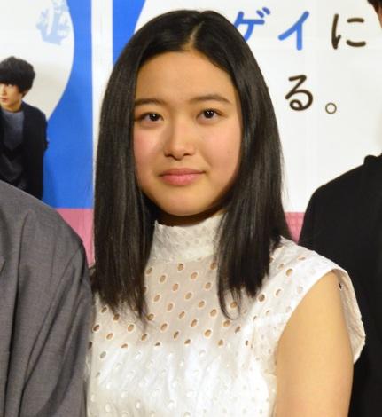 NHKよるドラ『腐女子、うっかりゲイに告(濃く)る』の第1話後試写会に出席した藤野涼子 (C)ORICON NewS inc.