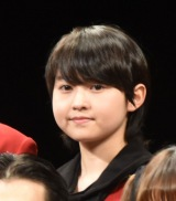 『映画 賭ケグルイ』完成披露試写会に登壇した伊藤万理華 (C)ORICON NewS inc.