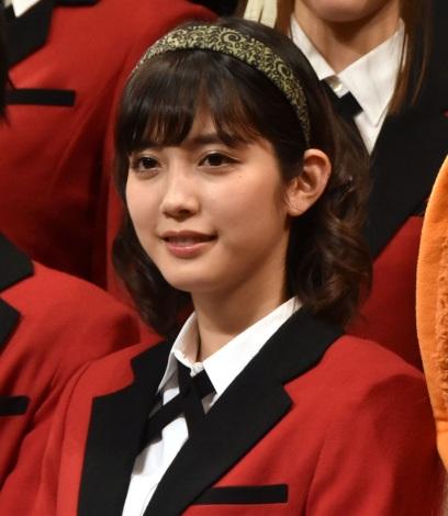『映画 賭ケグルイ』完成披露試写会に登壇した松田るか (C)ORICON NewS inc.