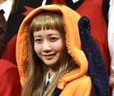 『映画 賭ケグルイ』完成披露試写会に登壇した三戸なつめ (C)ORICON NewS inc.
