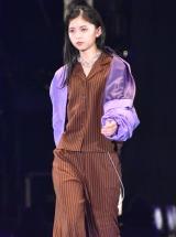 TGC「1st FASHION SHOW STAGE」に登場した乃木坂46・齋藤飛鳥 (C)ORICON NewS inc.