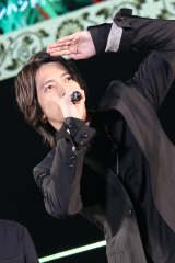 TGCにシークレット出演した山下智久(C)マイナビ presents TOKYO GIRLS COLLECTION 2019 S/S