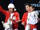 『マイナビ presents 第28回 東京ガールズコレクション 2019 SPRING/SUMMER』に家族で初出演したカジサック (C)ORICON NewS inc.