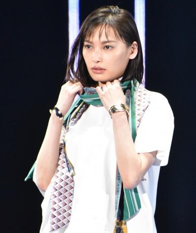 『マイナビ presents 第28回 東京ガールズコレクション 2019 SPRING/SUMMER』に出演した大政絢 (C)ORICON NewS inc.