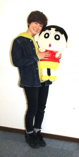 アニメ『クレヨンしんちゃん』で野原しんのすけ役を担当している声優・小林由美子 (C)ORICON NewS inc.