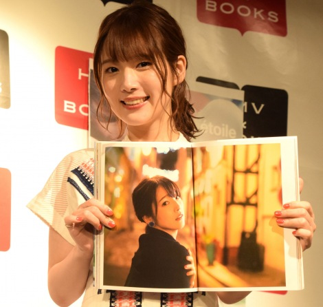 写真集『etoile(エトワール)』発売記念イベントを行った内田真礼 (C)ORICON NewS inc.
