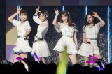 "NMB48""女子力ユニット""Queentet(左から)渋谷凪咲、太田夢莉、吉田朱里、村瀬紗英(C)NMB48"