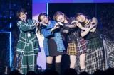 Zepp Nambaで2000人を動員(左から)太田夢莉、村瀬紗英、吉田朱里、渋谷凪咲(C)NMB48