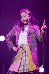 村瀬紗英=『Queentet Spring LIVE 2019』より(C)NMB48