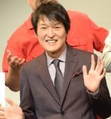 『NO BORDER』製作発表記者会見に出席した千原ジュニア (C)ORICON NewS inc.