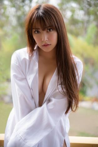 ファースト写真集の発売が決定したNBM48・白間美瑠 撮影:中村和孝