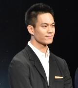 映画『チア男子!!』の完成披露試写会に登壇した菅原健 (C)ORICON NewS inc.