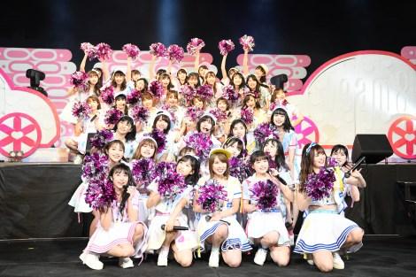 野外で2日間計4公演を実施した=『富士山麓エイト祭2019』(C)AKS