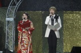 『声優紅白歌合戦』に出演したMCの植田佳奈と諏訪部順一