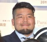 『SOMPOパラリンアートカップ2019』の開催発表会に参加した畠山健介氏 (C)ORICON NewS inc.
