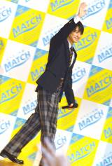ビタミン炭酸飲料『マッチ』新CM発表会にサプライズ登壇したKing & Prince・平野紫耀 (C)ORICON NewS inc.
