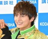 写真集『BOYS AND MEN THANKS! AT DOME LIVE』の記者会見に出席した小林豊 (C)ORICON NewS inc.