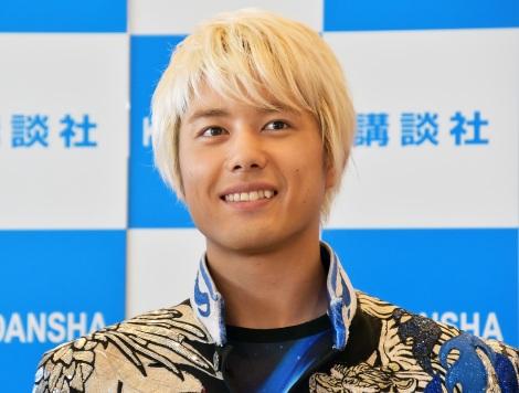 写真集『BOYS AND MEN THANKS! AT DOME LIVE』の記者会見に出席した勇翔 (C)ORICON NewS inc.