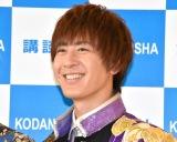 写真集『BOYS AND MEN THANKS! AT DOME LIVE』の記者会見に出席した土田拓海 (C)ORICON NewS inc.