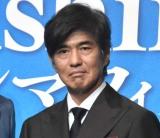 映画『Fukushima 50』のクランクアップ会見に出席した佐藤浩市 (C)ORICON NewS inc.