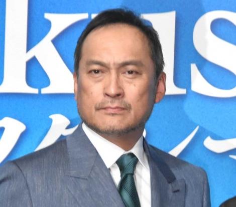 吉田さんをモチーフにしたドラマ(のオファー)をいくつかいただいていたと明かした渡辺謙=映画『Fukushima 50』のクランクアップ会見 (C)ORICON NewS inc.
