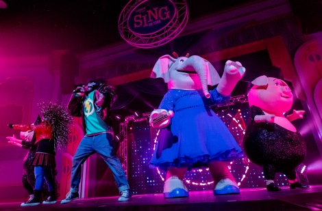 USJ新アトラクション『SING ON TOUR』 画像提供:ユニバーサル・スタジオ・ジャパン(C)Universal Studios