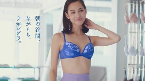 ワコール新CM『はじめての、リボンブラ』篇