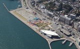 山口・下関港 あるかぽーと岸壁 =STU48公演開催地