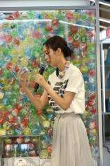 『EMPORIO ARMANI REAGLE ARCADE』のオープンイベントに参加した桐谷美玲