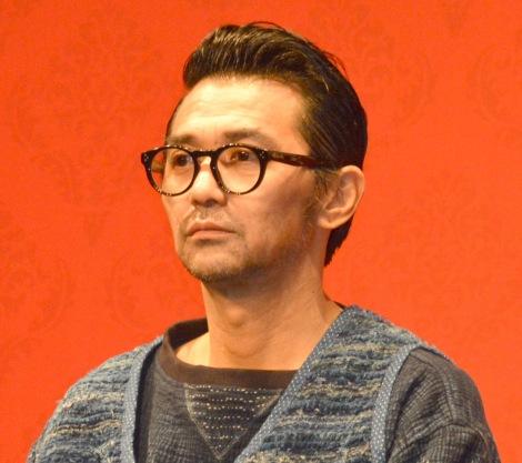 映画『うちの執事が言うことには』完成披露舞台あいさつに出席した村上淳 (C)ORICON NewS inc.