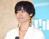 『プロアクティブ+新製品&新CM』発表会に出席した宮城舞 (C)ORICON NewS inc.