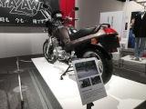 91年8月に購入しバイクの展示も=展示会『俺 矢沢永吉』より