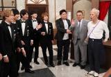 4月22日放送、Kis-My-Ft2とサンドウィッチマンの番組『10万円でできるかな』に中居正広が初登場(C)テレビ朝日