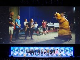新しいクリーチャーも登場=『スター・ウォーズ セレブレーション・シカゴ2019』で開催された『スター・ウォーズ/エピソード9』のステージイベントの模様 (C)ORICON NewS inc.