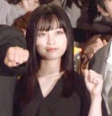 映画『キングダム』初日舞台あいさつに登場した橋本環奈 (C)ORICON NewS inc.