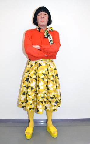 日本テレビ系連続ドラマ『俺のスカート、どこ行った?』(毎週土曜 後10:00)でゲイの女装家・原田のぶおを演じる古田新太 (C)ORICON NewS inc.