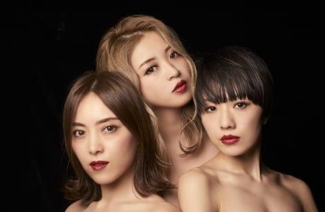 10年ぶりに再結成するFoxxi misQ(左から)CHiE、YU-A、DEM